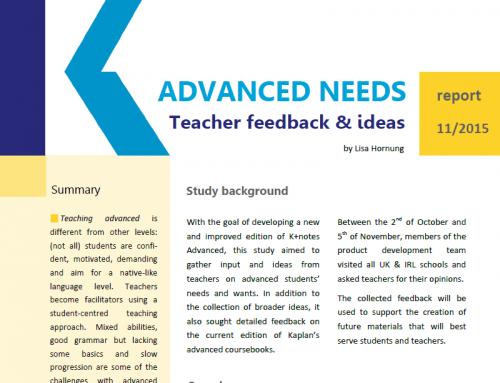 ADVANCED STUDENT NEEDS